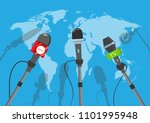vector illustration. hot news ... | Shutterstock .eps vector #1101995948