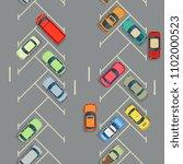 urban cars seamless texture.... | Shutterstock . vector #1102000523