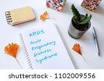 ards acute respiratory distress ... | Shutterstock . vector #1102009556
