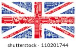 flag of england from symbols of ...