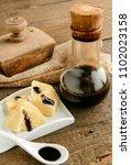 traditional italian balsamic... | Shutterstock . vector #1102023158