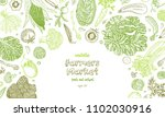 vegetable vector composition... | Shutterstock .eps vector #1102030916
