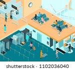 airport indoor isometric... | Shutterstock .eps vector #1102036040