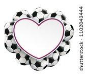 white paper heart in german... | Shutterstock .eps vector #1102043444