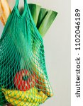 Green String Shopping Bag With...