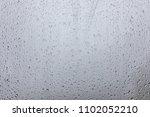 wet glass background. rain on...   Shutterstock . vector #1102052210