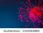 virus cell t cell cancer cell... | Shutterstock . vector #1102063883