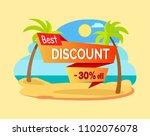best discount 30 percent off...   Shutterstock .eps vector #1102076078
