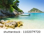 beautiful coast in... | Shutterstock . vector #1102079720