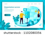 vector concept illustration   ... | Shutterstock .eps vector #1102080356