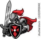 illustration of a medieval... | Shutterstock .eps vector #1102090040