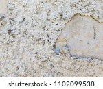 freshly plastered exposed wall... | Shutterstock . vector #1102099538