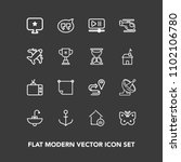 modern  simple vector icon set...   Shutterstock .eps vector #1102106780