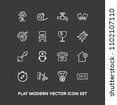 modern  simple vector icon set...   Shutterstock .eps vector #1102107110