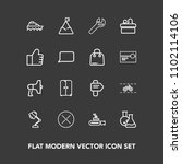 modern  simple vector icon set...   Shutterstock .eps vector #1102114106