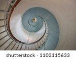 round stairs wallpaper   Shutterstock . vector #1102115633