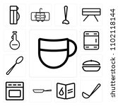 set of 13 icons such as beer ...