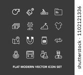modern  simple vector icon set... | Shutterstock .eps vector #1102121336