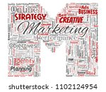 conceptual development business ... | Shutterstock . vector #1102124954