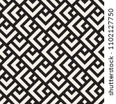 vector seamless lines mosaic... | Shutterstock .eps vector #1102127750