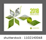 cover design for annual report... | Shutterstock .eps vector #1102140068