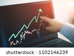 selective focus business man... | Shutterstock . vector #1102146239