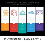 5 vector icons such as more... | Shutterstock .eps vector #1102157948
