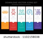 5 vector icons such as sleep... | Shutterstock .eps vector #1102158038