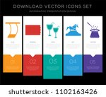 5 vector icons such as trapeze  ...   Shutterstock .eps vector #1102163426