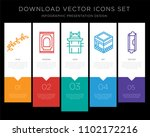 5 vector icons such as olive... | Shutterstock .eps vector #1102172216