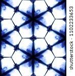 vector tie dye shibori print ... | Shutterstock .eps vector #1102233653