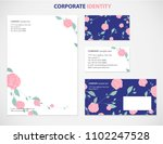 corporate identity  business... | Shutterstock .eps vector #1102247528