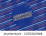 gold logo lettering russia goal ... | Shutterstock .eps vector #1102262468