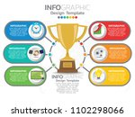 infographic template design... | Shutterstock .eps vector #1102298066