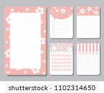 design elements for notebook ... | Shutterstock .eps vector #1102314650