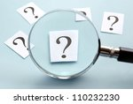 Magnifying Glass And A Question ...