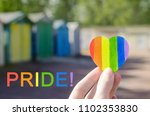 pride month lgbt rights lesbian ... | Shutterstock . vector #1102353830