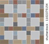 3d brick stone pathway pattern  ... | Shutterstock .eps vector #1102375154
