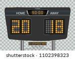 digital timing scoreboard ... | Shutterstock .eps vector #1102398323