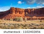 american southwest desert... | Shutterstock . vector #1102402856