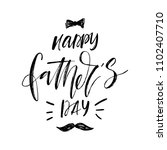 happy father's day illustration.... | Shutterstock .eps vector #1102407710