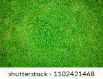 green grass texture background | Shutterstock . vector #1102421468