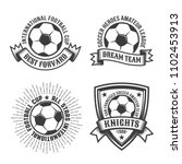 football old school logo... | Shutterstock .eps vector #1102453913