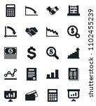 set of vector isolated black... | Shutterstock .eps vector #1102455239