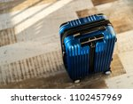 travel luggage at home | Shutterstock . vector #1102457969