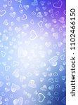 light pink  blue vertical... | Shutterstock . vector #1102466150