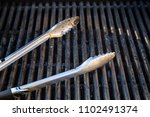 grill utensils tools fork tongs ... | Shutterstock . vector #1102491374