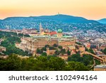 view to budapest from citadella ... | Shutterstock . vector #1102494164