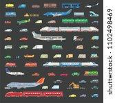 big set vector illustration of...   Shutterstock .eps vector #1102498469