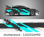 car decal vector  graphic...   Shutterstock .eps vector #1102526990